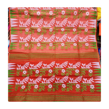 Indian Traditional Designer Jamdani Saree For Sale
