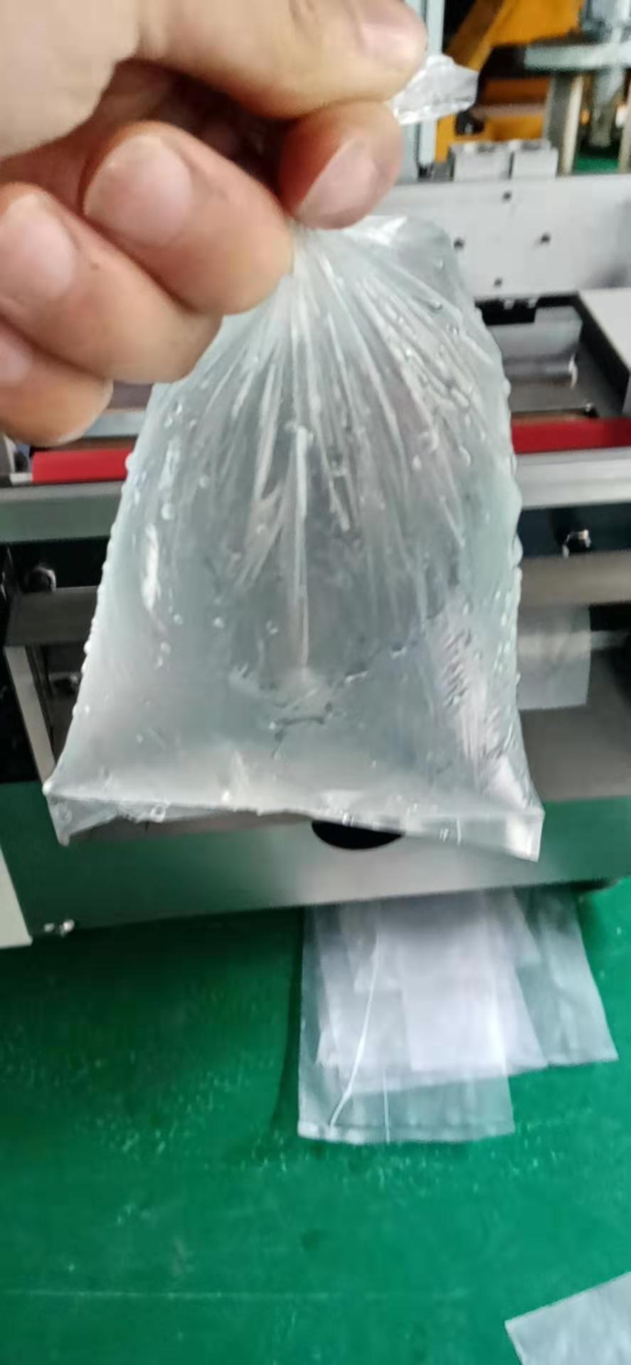 Plastic bag making machine shopping wholesale quality small mini plastic flat pocket hot cutting plastic bag making machine