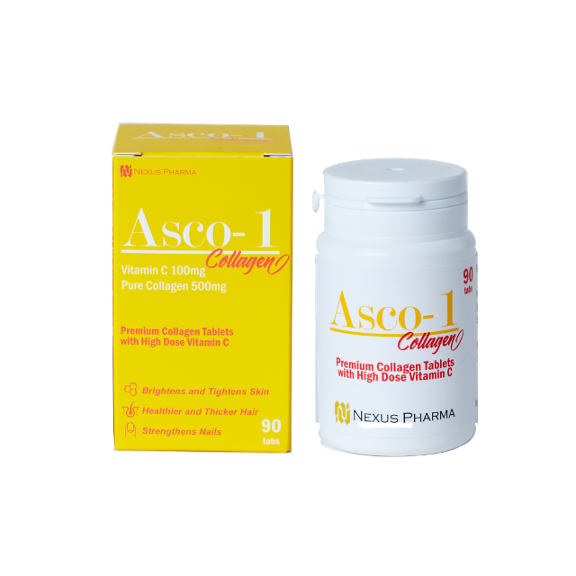 Collagen Asco-1 Collagen Skin Whitening Supplement Anti-aging peptides for hair and nail