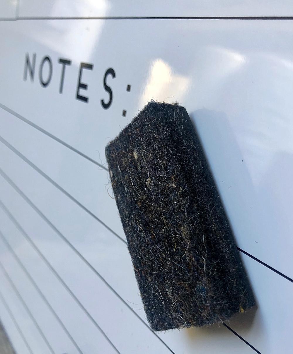 Whiteboard Eraser Mini Size for school students teachers training measures 1.5\