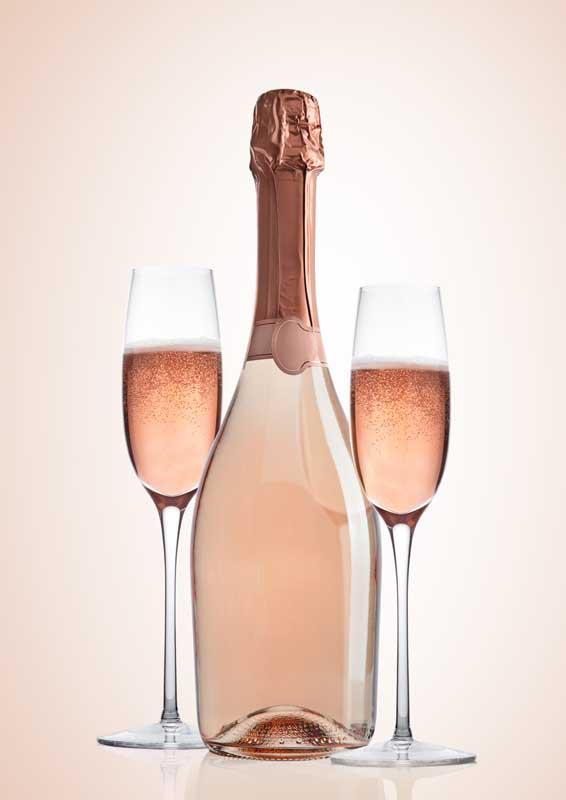 HIGH QUALITY Prosecco DOC Rose Sparkling Private Label Italy Millesimato