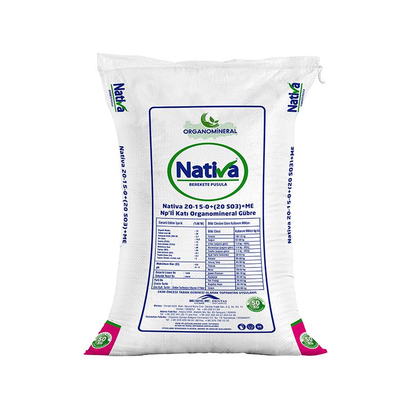 Новинка, оптовая продажа, органическое гранулированное удобрение NPK 20-15-0 +(20SO3)+ ME