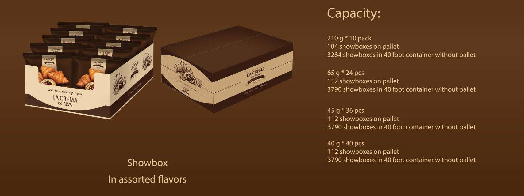 210 г в упаковке 8 шт. Вишневый ванильный Молочный Крем Шоколад абрикосовый сладкий Круассан
