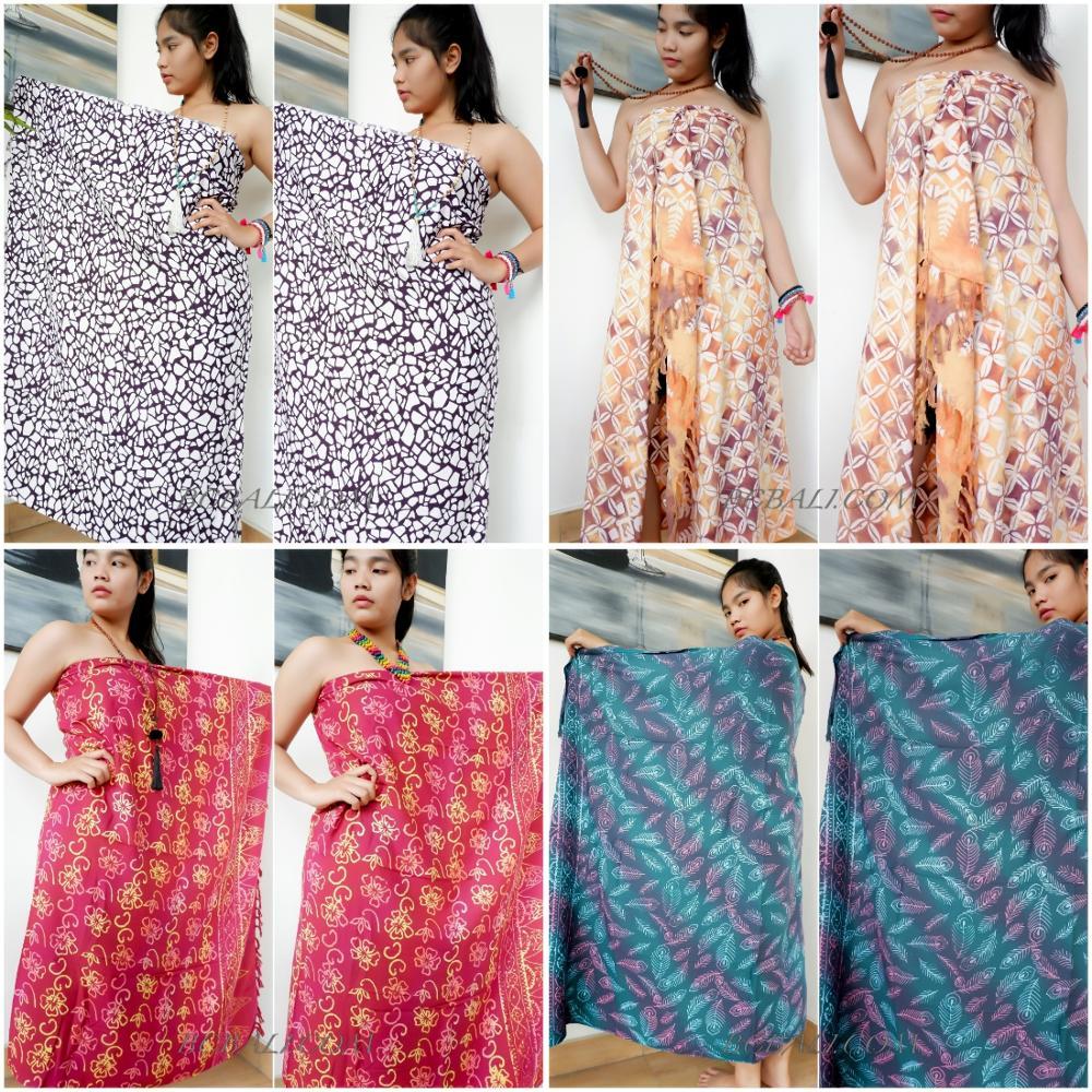 Бали из искусственного шёлка батик саронг остров тропический дизайн оптовая цена от Бали качество экспорта