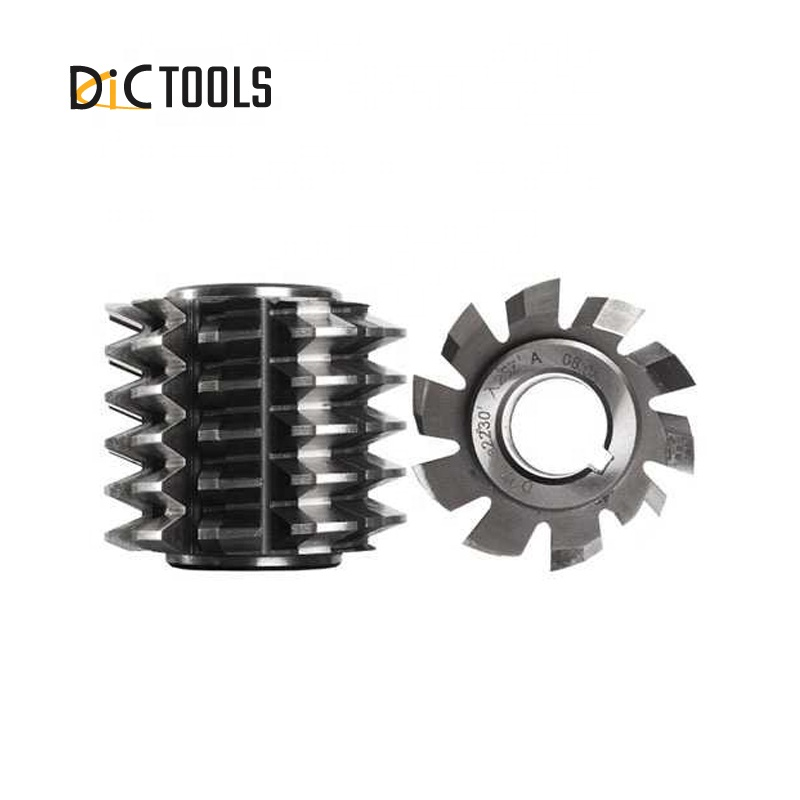 HSS M35 Straight Side Spline Hob Cutter with TIALN coating