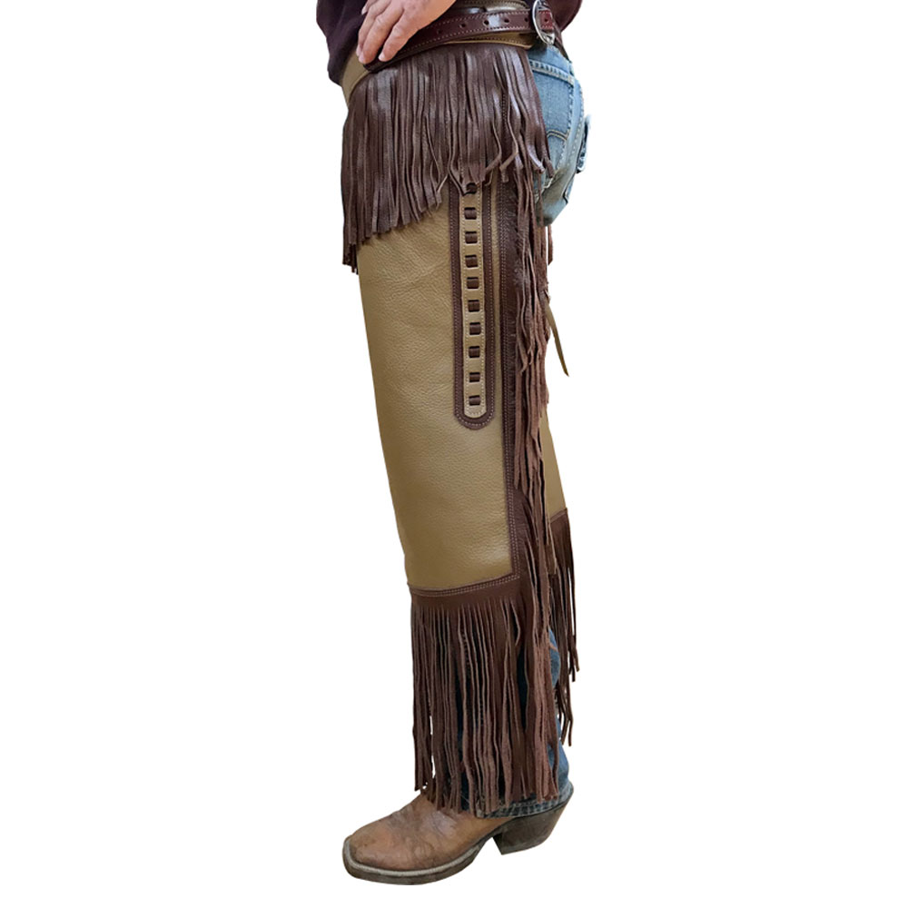 Latest Design Women English Style Leather Horse Riding Chaps