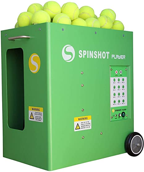 Оригинальный Новый аутентичный игровой автомат Spinshot Plus II 2 для теннисных мячей с дистанционным управлением