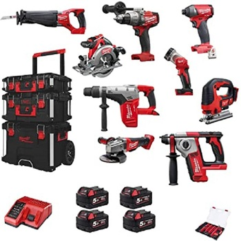 Hot Sales POWER TOOLS For Brand New Milwaukees 2695-15 M18 18V Cordless Lithium-Ion Combo Tools