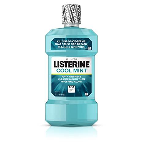 Listerine, ополаскиватель для полоскания рта, охлаждающая мята, распродажа