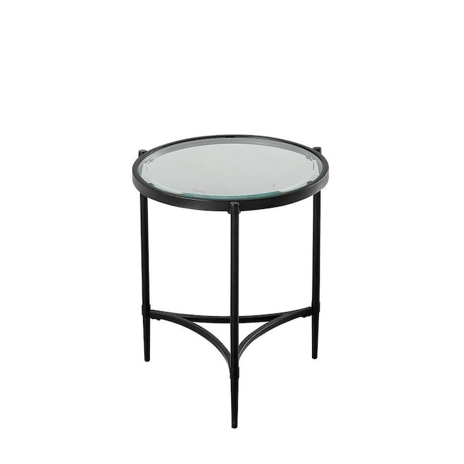 Clear Glass Round End Table Black Glass Round End Table Buy Glass And Iron Coffee Table End Table Unique End Tables Modern Side Table Antique Glass Top End Table Luxury Side Table Luxury