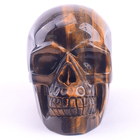 Stone Tiger Natural Crystal Stone Hand-carved Tiger Stone Crystal Skull