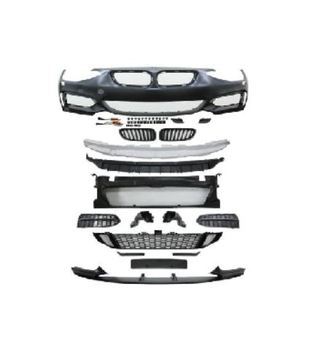 AUTO CAR FRONT BUMPER 2010-2014 FOR 1 SERIES BMW F20 F21 FOR M-PERFORMANCE M235 STYLE BODY KIT