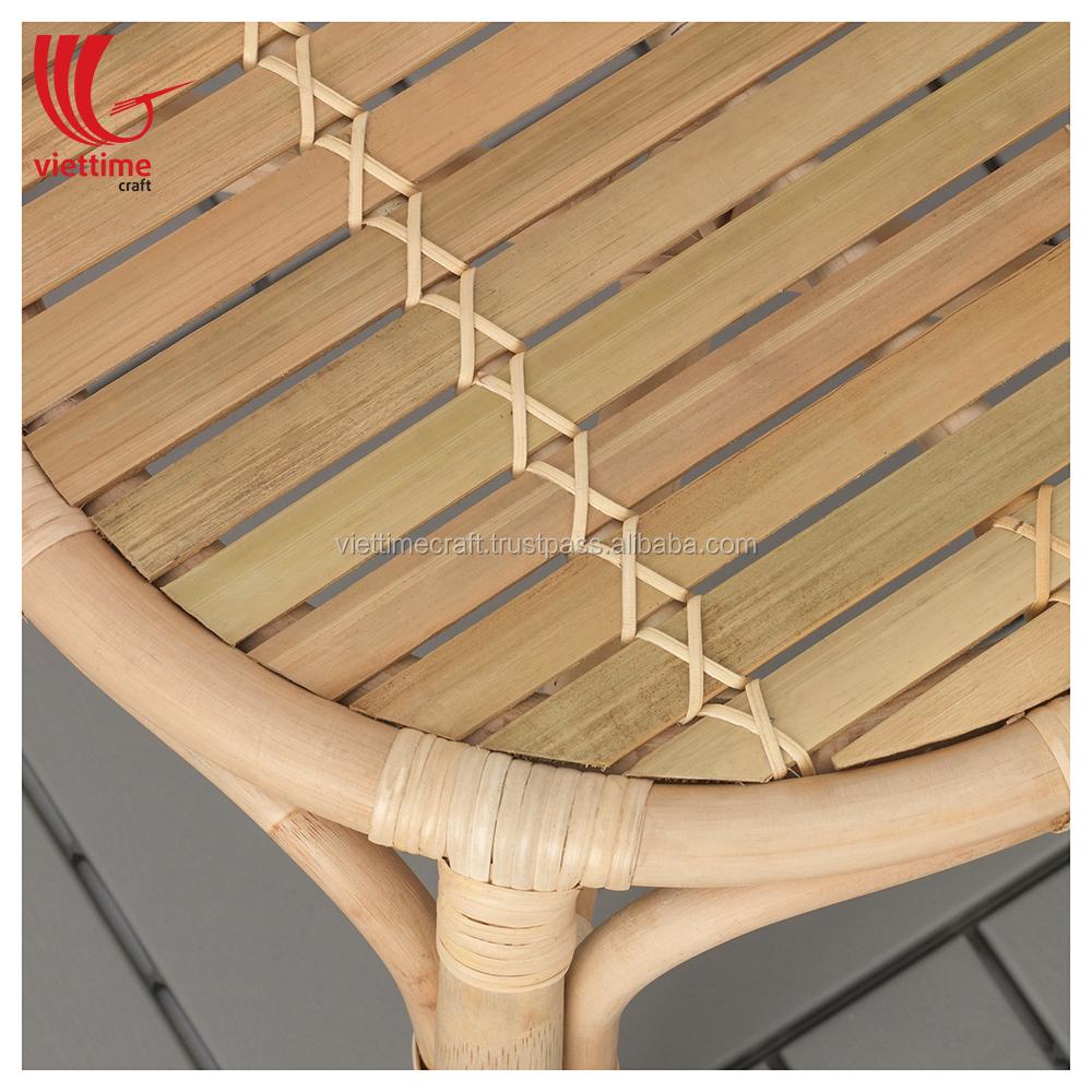Боковой столик из ротанга оптом, кофейный столик из ротанга из Вьетнама, табурет из ротанга