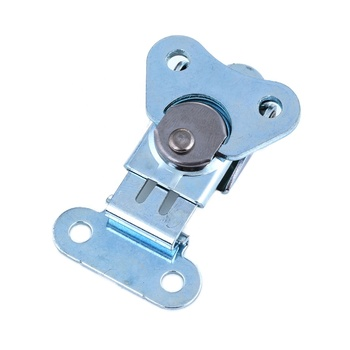 TS-153-ST Adjustable Cabinet Steel Lock Hasp Clamp Locking Draw Over Center Toggle Latch