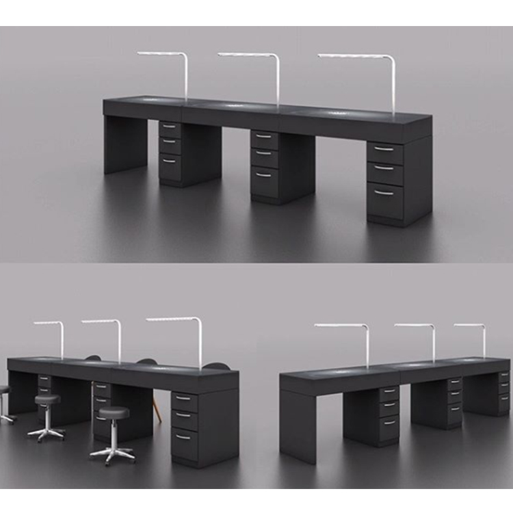 Modern Black Nail Station Furniture Decoration Ideas Acrylic Buy Table Pink Cheap Product On Alibaba Com