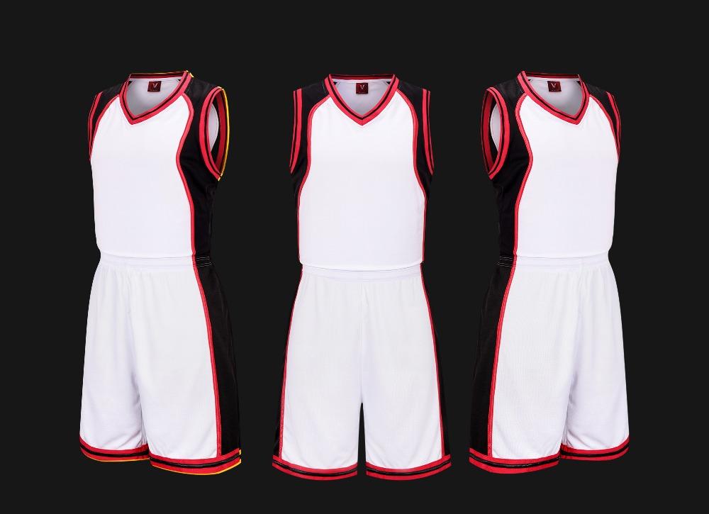 Compra Rojo uniforme del baloncesto online al por mayor de