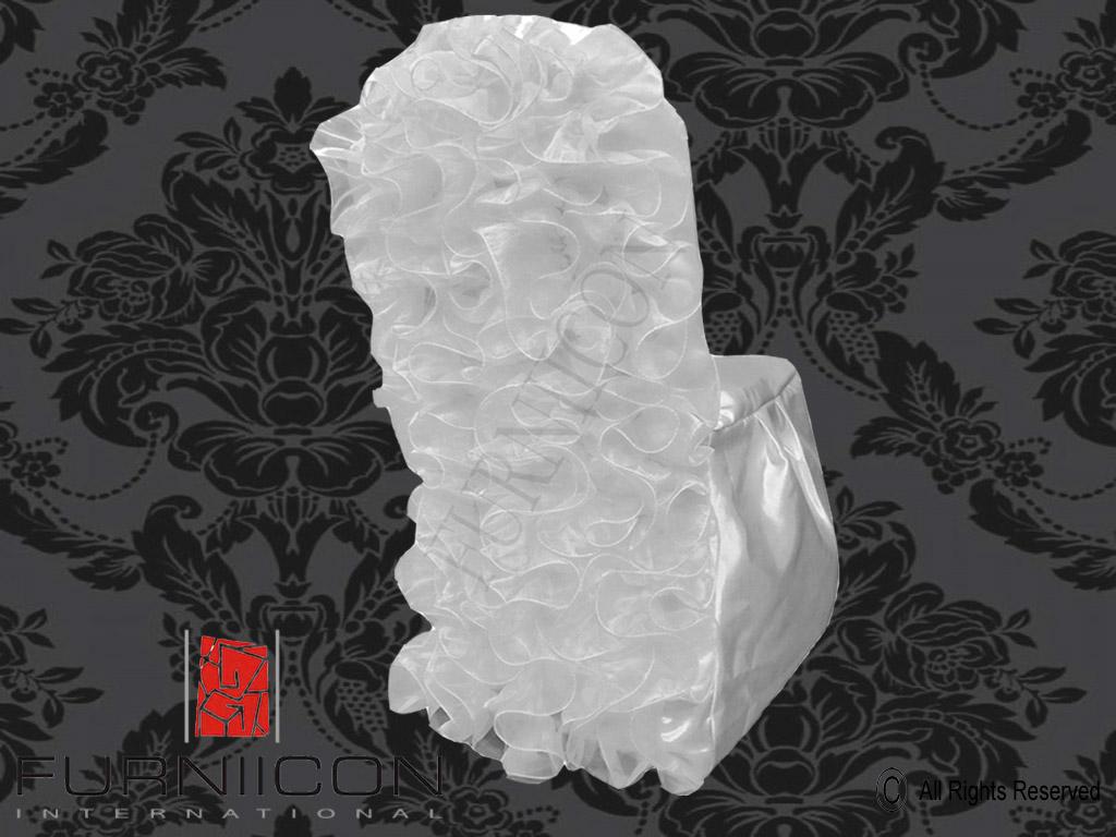 Ruffled Wedding Chair Covers Buy Elegant Chair Covers