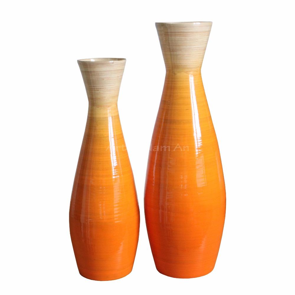 Spun Bamboo Floor Vase Decorative Tall Vase Buy Bamboo Floor Vases Bamboo Lacquer Vase Tall Vase Product On Alibaba Com