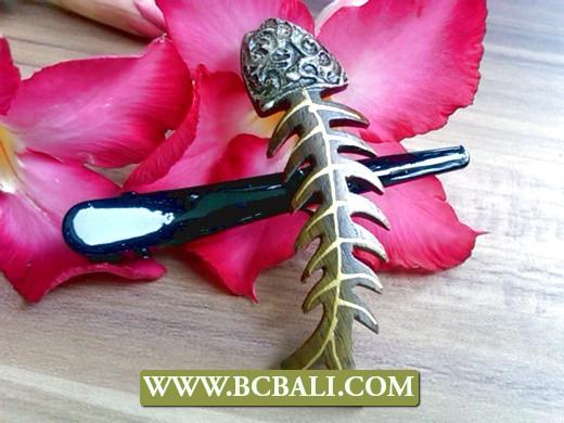 Женские деревянные заколки для волос