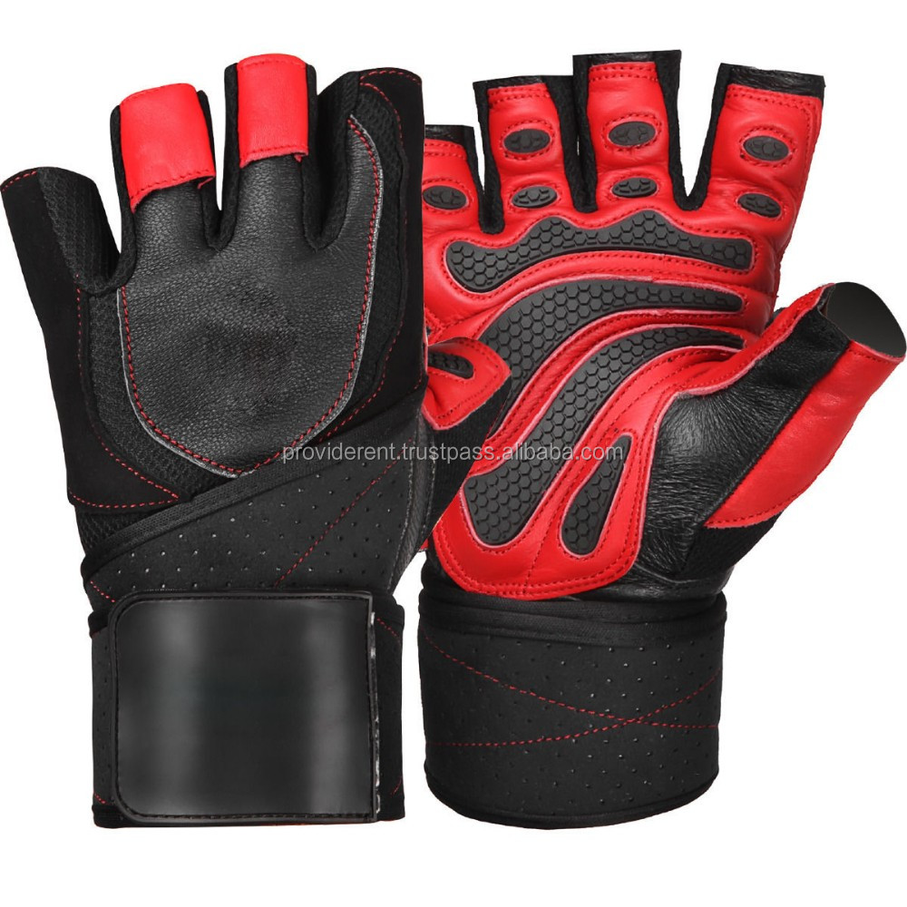 Workout Gloves Size Chart: Gym Exercise Gloves / Leather Weight Lifting Gloves