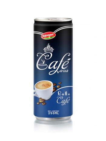Black coffee in Alu can manufacturers 250ml JOJONAVI beverage brands