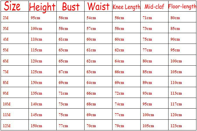 401466bf5d2 GIRL SIZE CHART. For clothing sizes (BeForever™