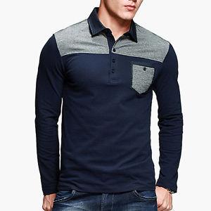 Mens Long Sleeve Polo Shirts - Buy Mens Long Sleeve Polo Shirt With Pocket Product on Alibaba.com