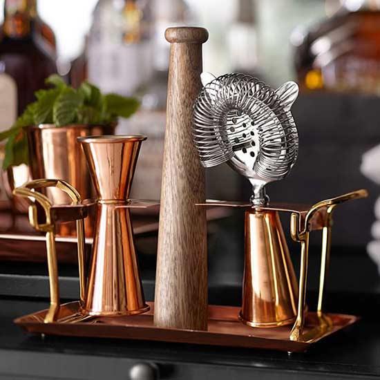 Bar Tool Set Copper Plated Bar equipment/glassware barware