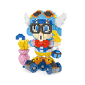 14 18 CM Anime Arale DIY Building Blocks Plastic Figures Toy Diamond Blocks Children Educational Toy