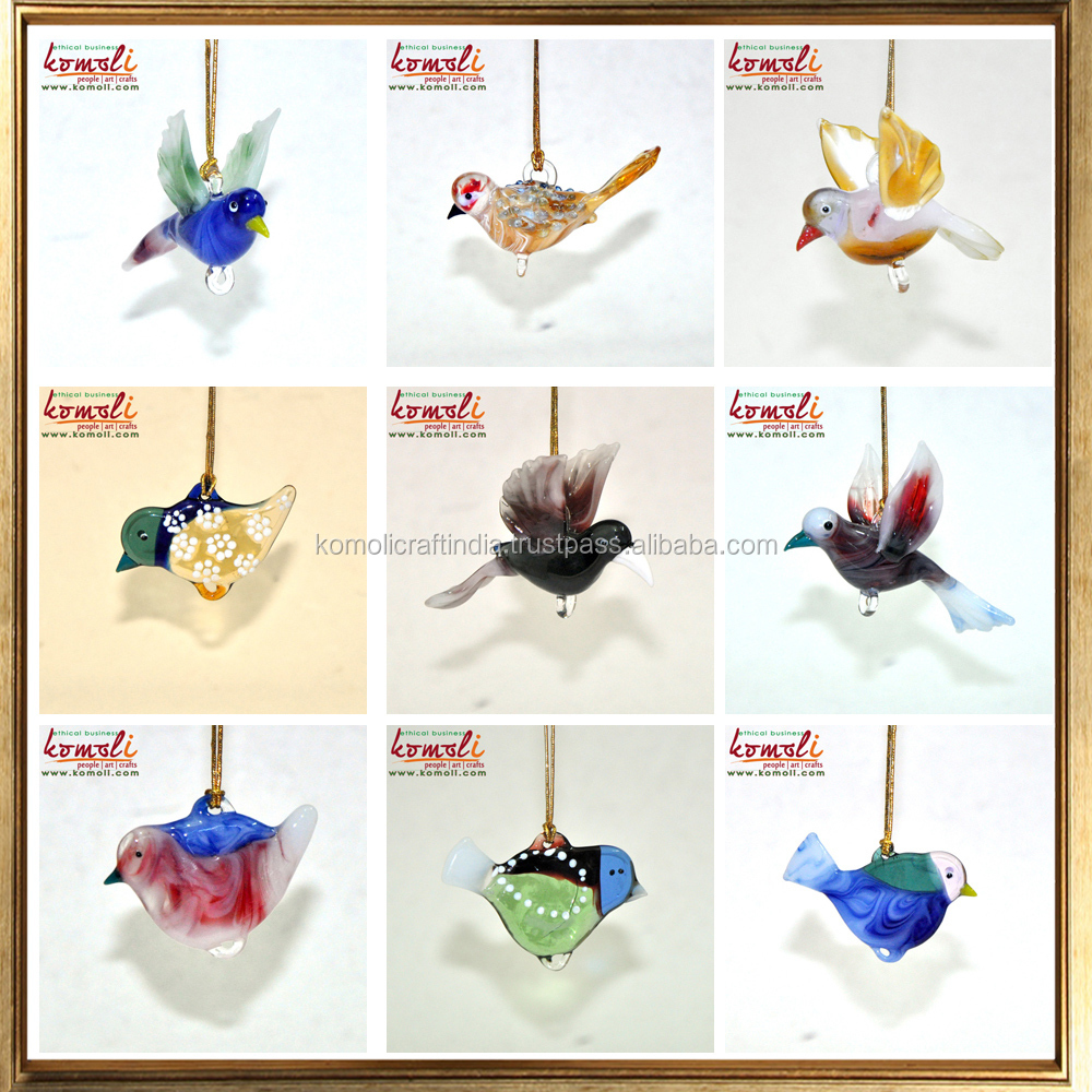 Hanging Birds Clear Blown Glass Ornaments Animal Figurines Christmas Buy Glass Ornaments Blown Glass Animal Figurines Clear Glass Christmas Ornaments Product On Alibaba Com