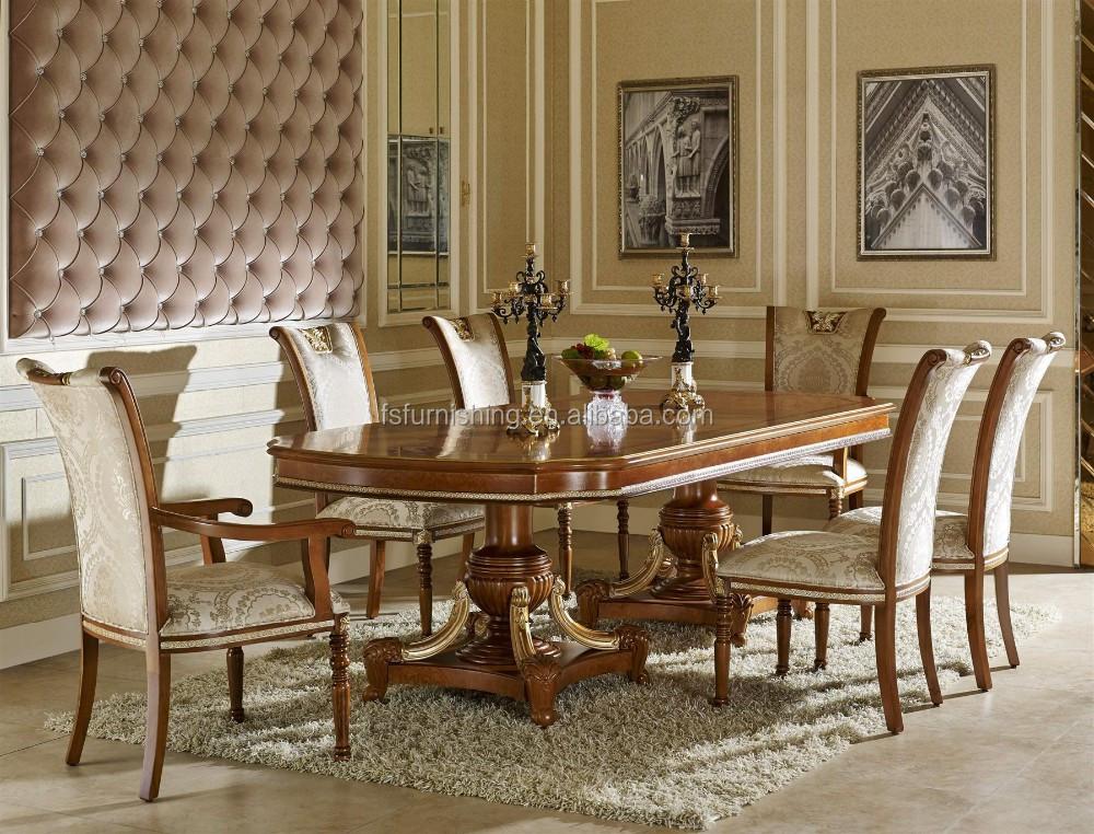 yb62 de luxe classique royal baroque bras chaise fran ais style en bois manger chaise meubles. Black Bedroom Furniture Sets. Home Design Ideas