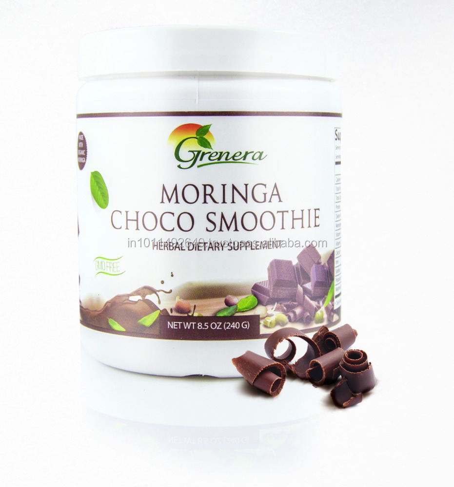 Organic Certified Moringa Choco Powder - Healthy Nutritious Drink