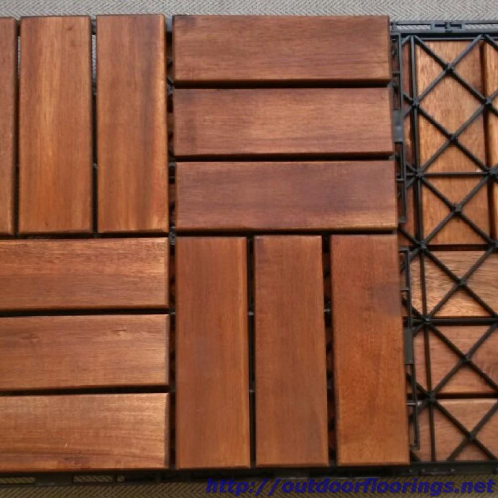 Vietnam Balcony Wood Floor Tiles