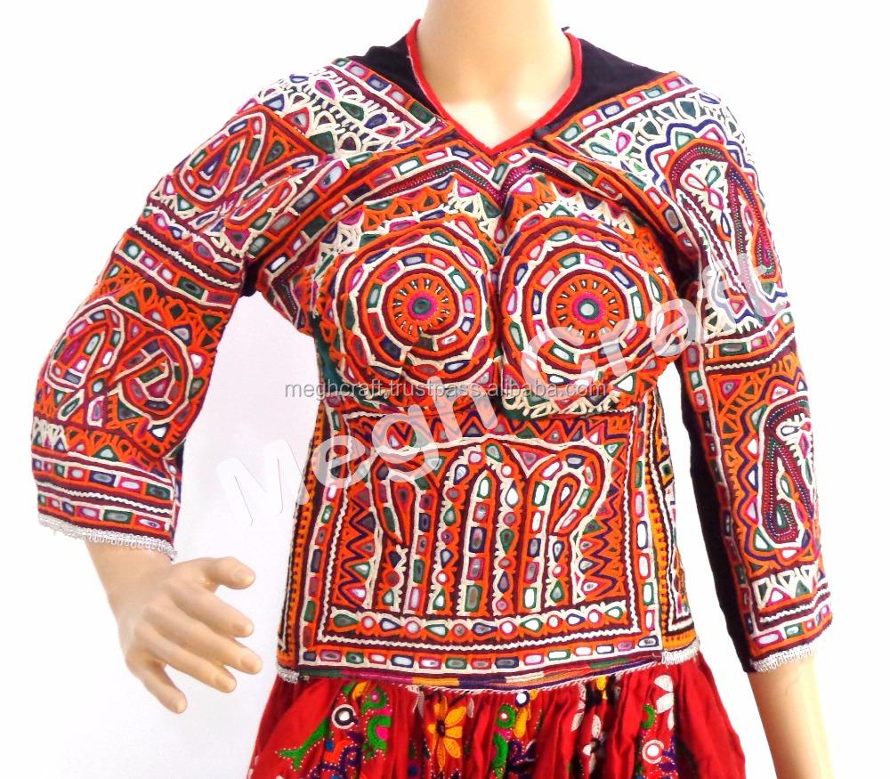 Banjara Blouse ACH 88 Indian Banjara Choli Mirror Work Vintage Choli