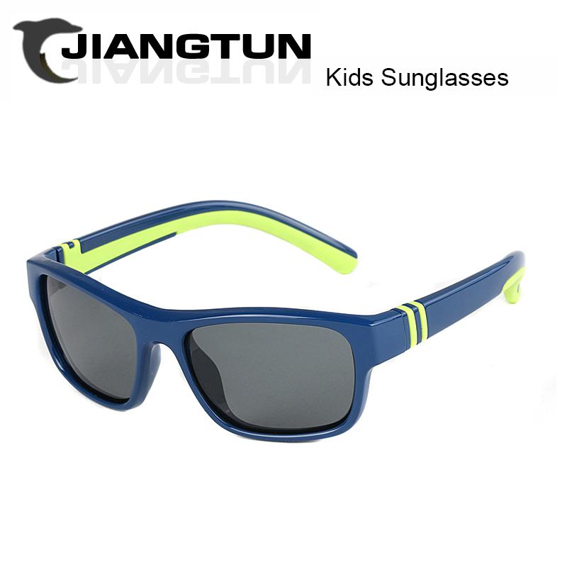 JIANGTUN New Style Boys Girls Polarized Sun Glasses Kids Sunglasses UV400 Children Glasses Outdoor Goggles Cool Gafas De Sol