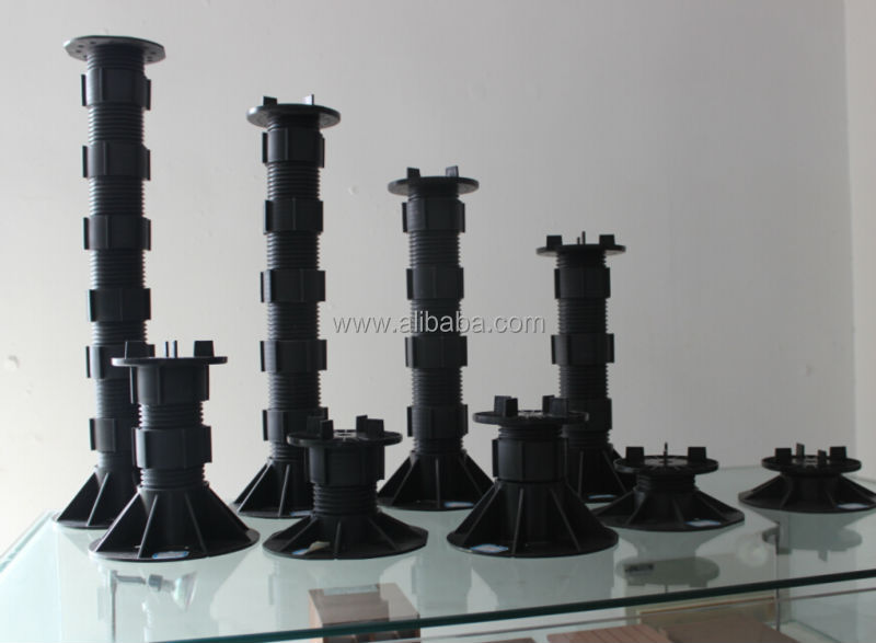 Paving slabs plastic pedestal support system buy plastic - Exterior concrete leveling products ...