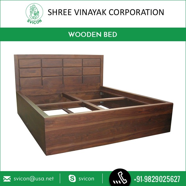 Brown Wooden Frame Latest Design Double Bed By Top Selling Brand Company -  Buy Indian Wood Double Bed Designs Price,New Design Double Bed ...