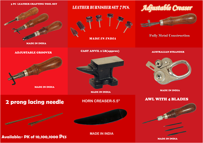 Widely Used Leather Craft Hand Tools From India Buy