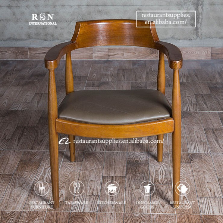 Bentwood Dining Chair For Restaurant Solid Wooden Dining