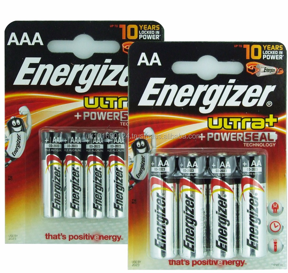 Energizer Ultra Plus Aa Lr6 Size Pack Of 4 For Clocks Keyboards Mice Remote Controls Torches Toys Buy Energizer Ultra Plus Aa Lr6 Batteries Wholesale Energizer Energizer Aa Product On Alibaba Com