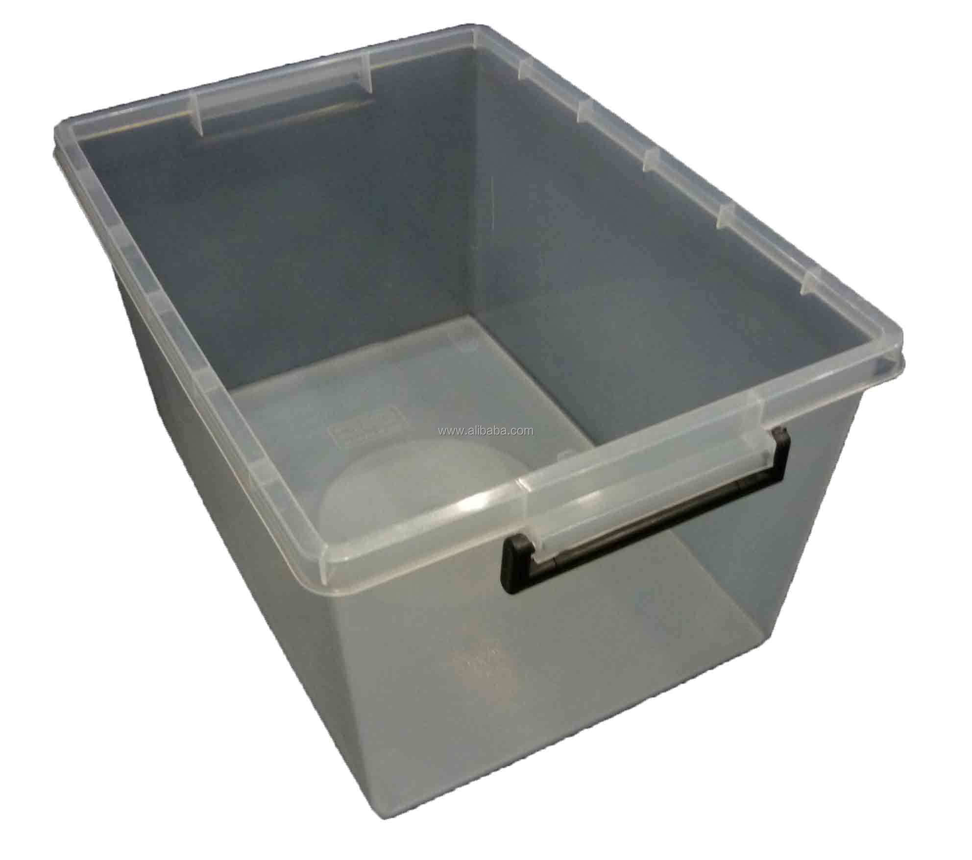 45lt Plastic Storage Box Boxes Tub Tubs Container