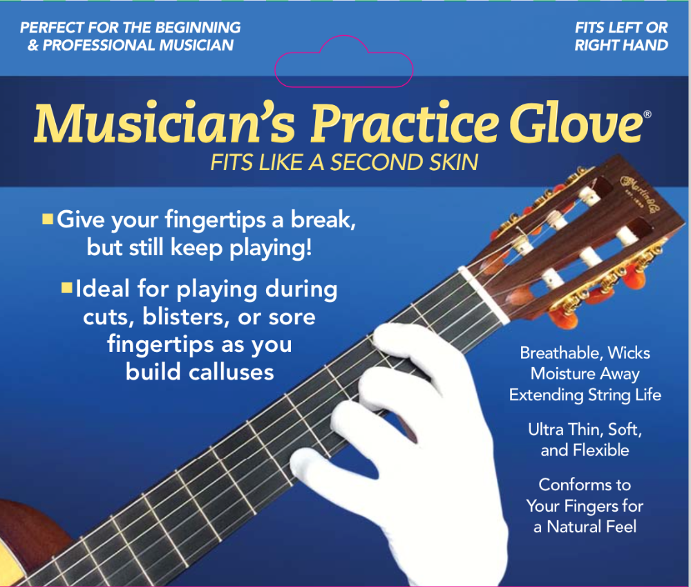 guitar glove bass glove musician 39 s practice glove s one fits either hand buy guitar. Black Bedroom Furniture Sets. Home Design Ideas