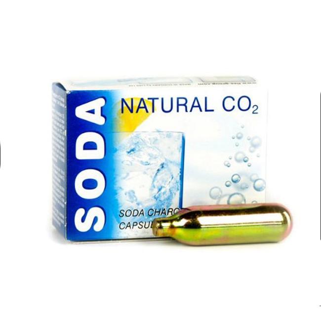 UK Seller 30x Mosa CO2 8g Chargers Non-Threaded Soda Cartridges Gas Bulbs