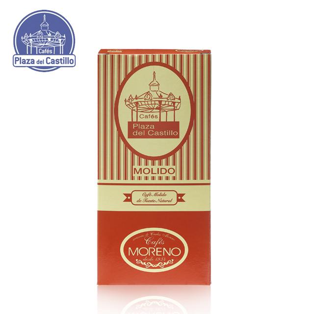 Натуральные жареные кофейные зерна оптом (картонная коробка 250 г)-P DEL CASTILLO - | Кафе Plaza del Castillo