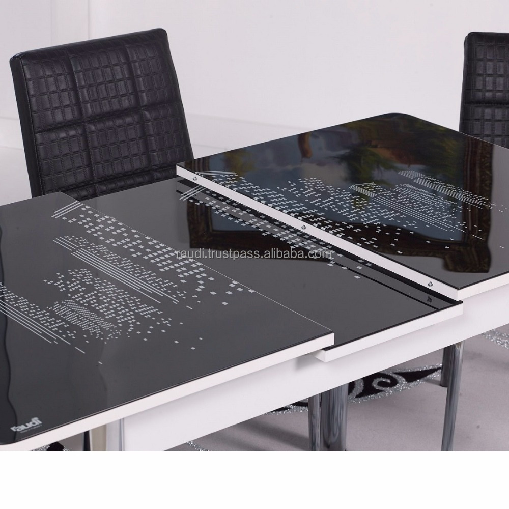Eettafel Met Automatische Vouw Functie Buy Folding Dining Table Designs Glass Dining Table Glass Dining Table Product On Alibaba Com