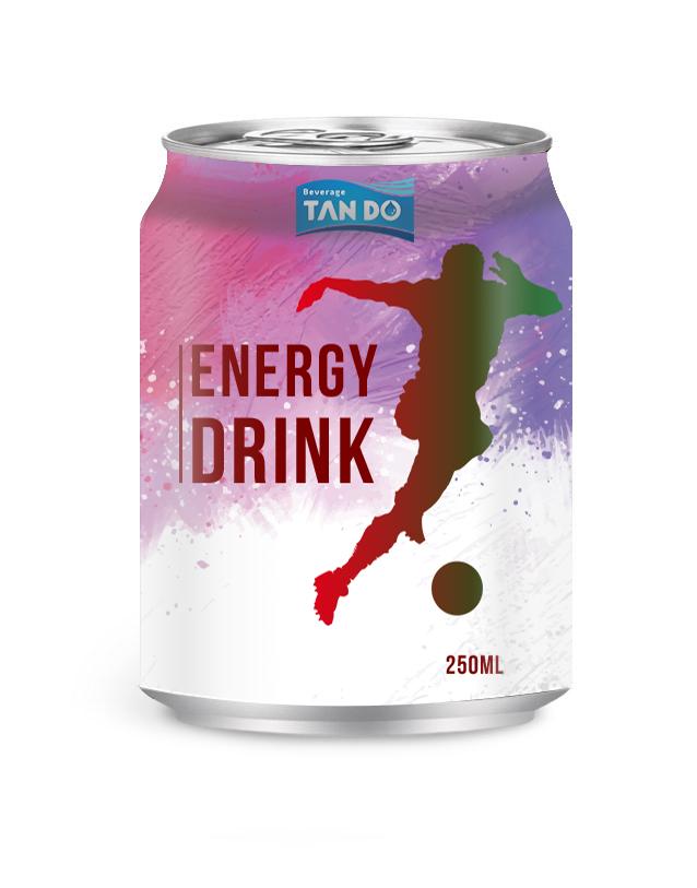 Energy dink с многовитаминным пакетом 500 мл, принимается частная этикетка с бесплатным дизайном