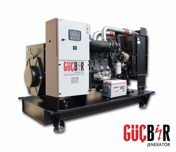 55 kVA Diesel Genset with Full Service Pack