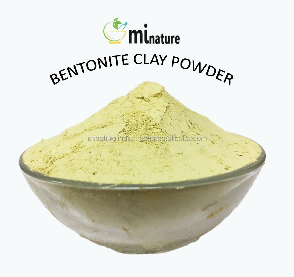 Чистый порошок глины бентонита-индийский мултани митти-фуллерс земля