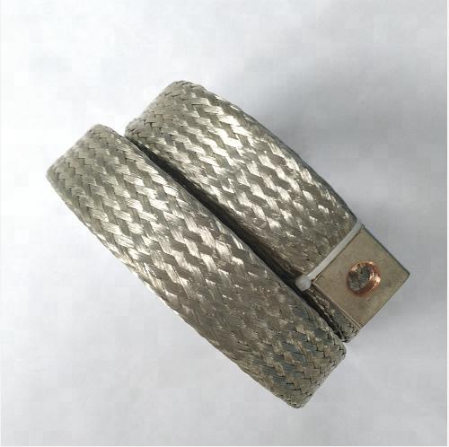 Оплетка из луженой меди 75 кв. мм с зажимами от производителя
