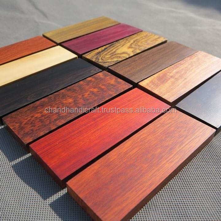 Hobbies 688 Turkey Hackberry Wood Pen blanks Raw Material bookmatched figured scales wood turning blank Carpenter For woodworking